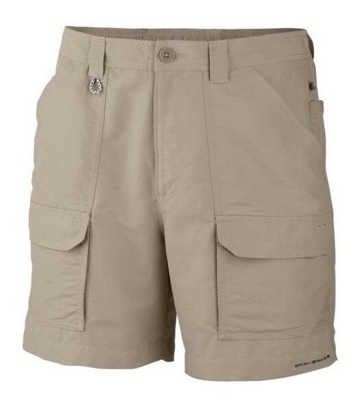 Short Columbia Color Gris Talle S